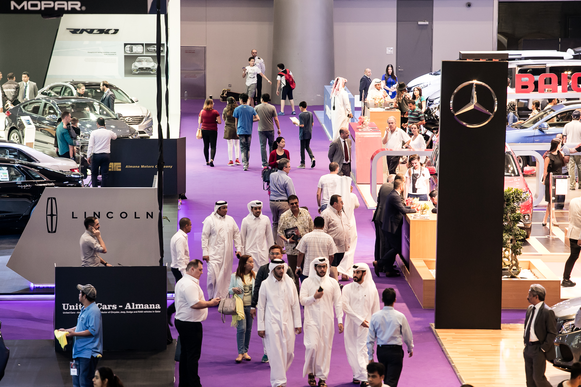 Qatar Motor Show 2017 – SPACES QATAR